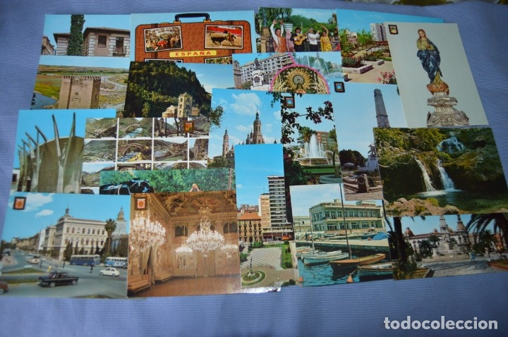 Postales: Gran lote de POSTALES de 190 POSTALES - ESPAÑA VARIADA - De los años 50 a los 80 - Foto 8 - 160612205