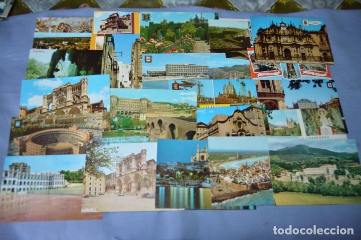 Postales: Gran lote de POSTALES de 190 POSTALES - ESPAÑA VARIADA - De los años 50 a los 80 - Foto 10 - 160612205