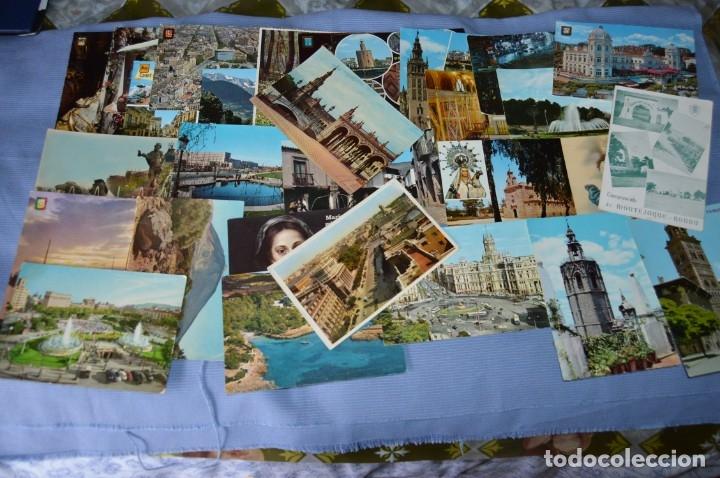 Postales: Gran lote de POSTALES de 190 POSTALES - ESPAÑA VARIADA - De los años 50 a los 80 - Foto 11 - 160612205