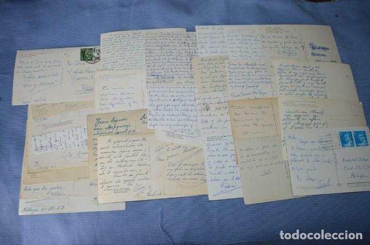 Postales: Gran lote de POSTALES de 190 POSTALES - ESPAÑA VARIADA - De los años 50 a los 80 - Foto 12 - 160612205