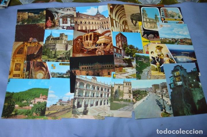 Postales: Gran lote de POSTALES de 190 POSTALES - ESPAÑA VARIADA - De los años 50 a los 80 - Foto 9 - 160612205
