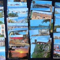 Postales: LOTE DE POSTALES ESPAÑOLAS AÑOS 60 - 80 CIRCULADAS. Lote 161649054