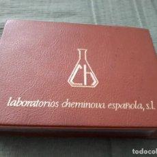 Postales: ALBUM COLECCIÓN DE 39 POSTALES NUMERADAS DE CATEDRALES DE ESPAÑA - LABORATORIOS CHEMINOVA - 1971-72. Lote 163107898