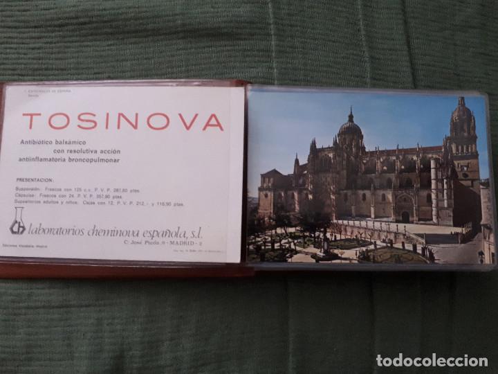 Postales: Album colección de 39 postales numeradas de Catedrales de España - Laboratorios Cheminova - 1971-72 - Foto 3 - 163107898