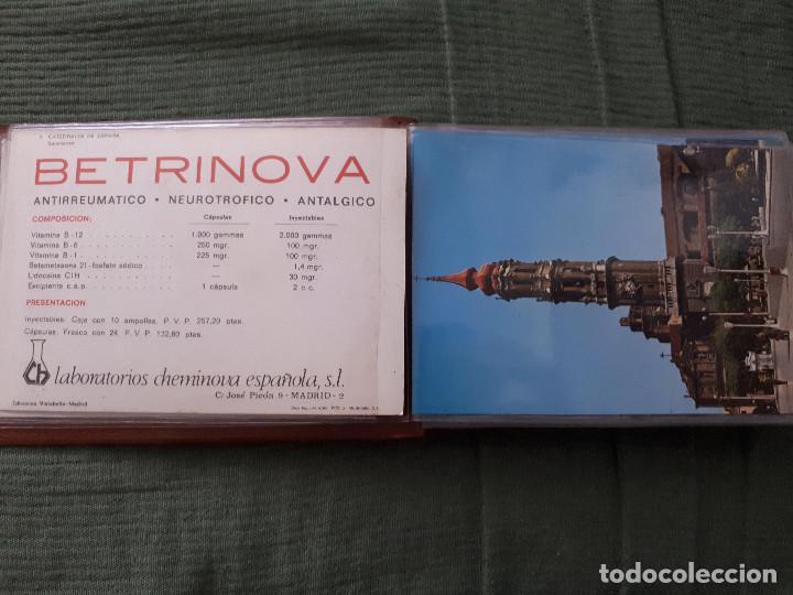 Postales: Album colección de 39 postales numeradas de Catedrales de España - Laboratorios Cheminova - 1971-72 - Foto 4 - 163107898