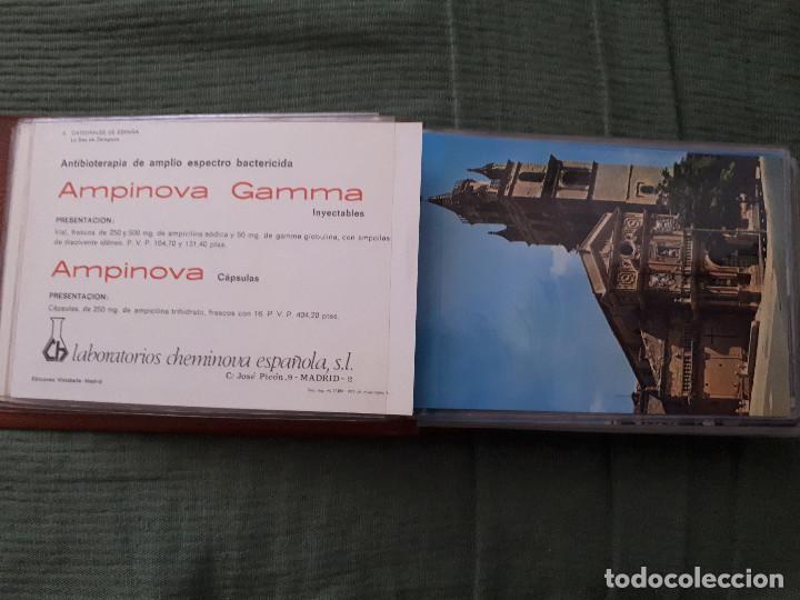 Postales: Album colección de 39 postales numeradas de Catedrales de España - Laboratorios Cheminova - 1971-72 - Foto 5 - 163107898