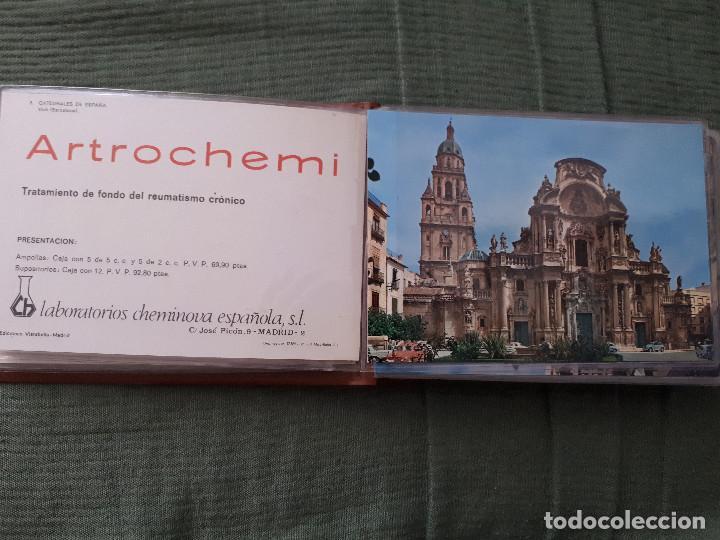 Postales: Album colección de 39 postales numeradas de Catedrales de España - Laboratorios Cheminova - 1971-72 - Foto 7 - 163107898