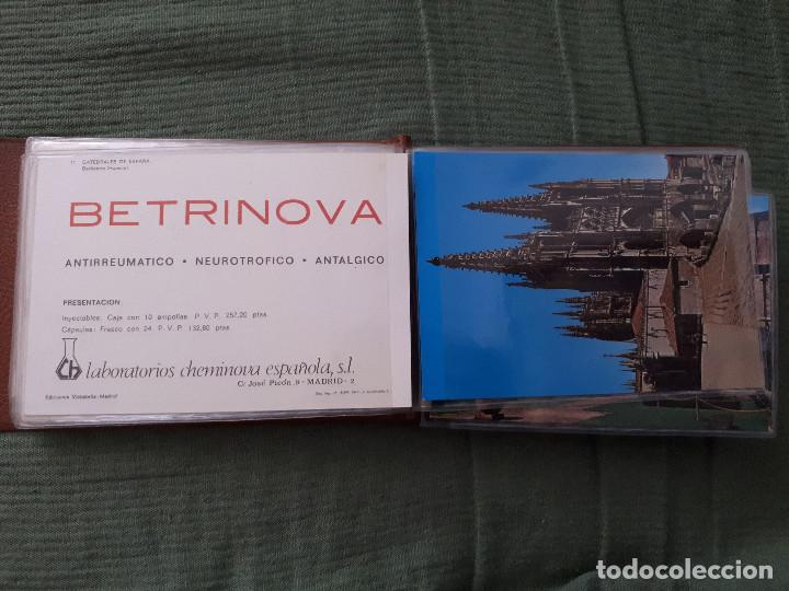 Postales: Album colección de 39 postales numeradas de Catedrales de España - Laboratorios Cheminova - 1971-72 - Foto 13 - 163107898