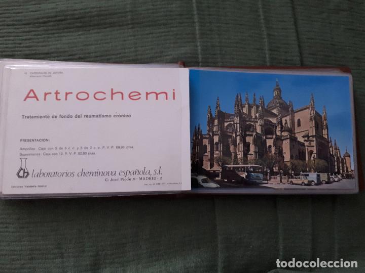 Postales: Album colección de 39 postales numeradas de Catedrales de España - Laboratorios Cheminova - 1971-72 - Foto 21 - 163107898