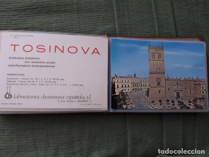 Postales: Album colección de 39 postales numeradas de Catedrales de España - Laboratorios Cheminova - 1971-72 - Foto 22 - 163107898