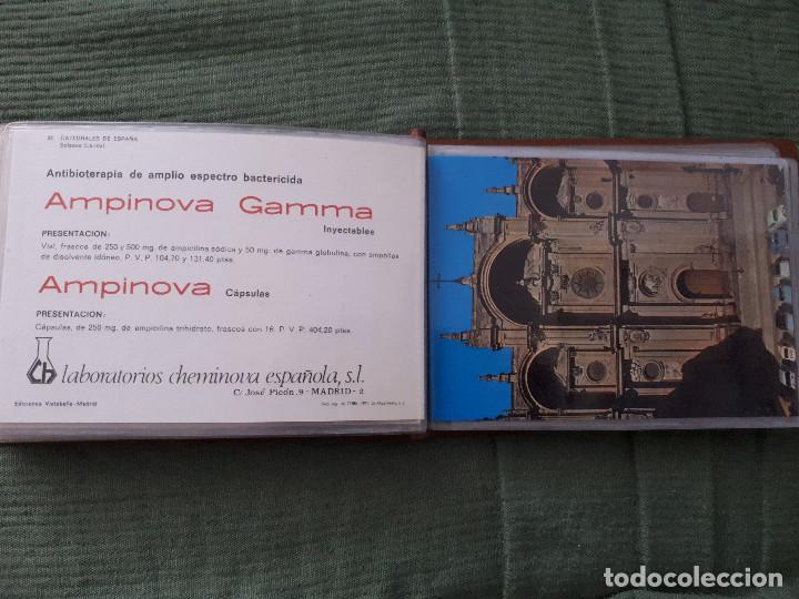 Postales: Album colección de 39 postales numeradas de Catedrales de España - Laboratorios Cheminova - 1971-72 - Foto 25 - 163107898