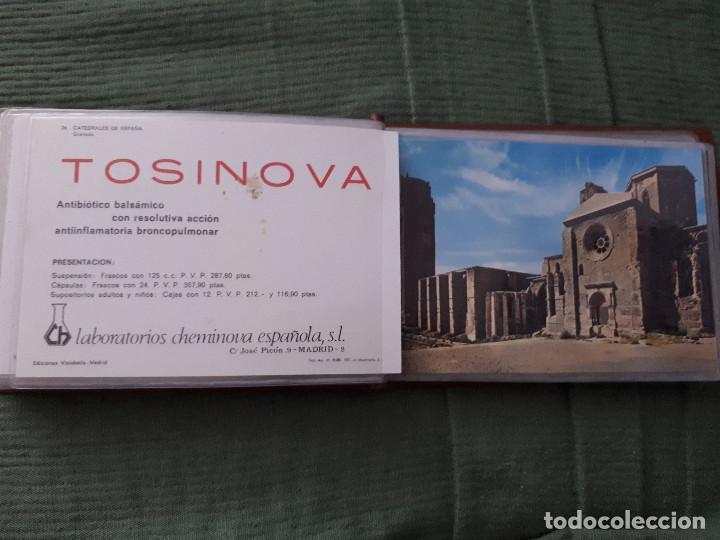 Postales: Album colección de 39 postales numeradas de Catedrales de España - Laboratorios Cheminova - 1971-72 - Foto 26 - 163107898