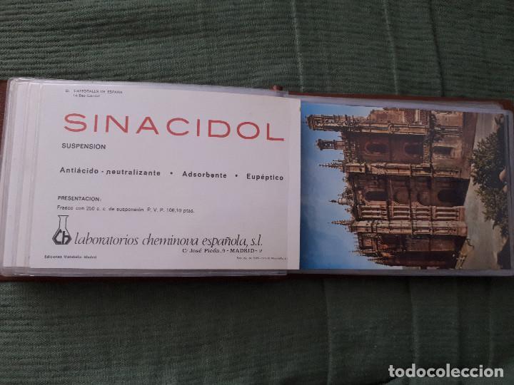 Postales: Album colección de 39 postales numeradas de Catedrales de España - Laboratorios Cheminova - 1971-72 - Foto 27 - 163107898