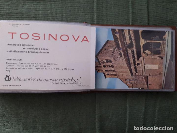 Postales: Album colección de 39 postales numeradas de Catedrales de España - Laboratorios Cheminova - 1971-72 - Foto 28 - 163107898