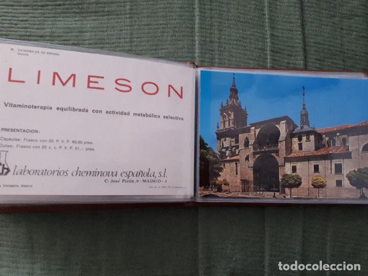 Postales: Album colección de 39 postales numeradas de Catedrales de España - Laboratorios Cheminova - 1971-72 - Foto 30 - 163107898