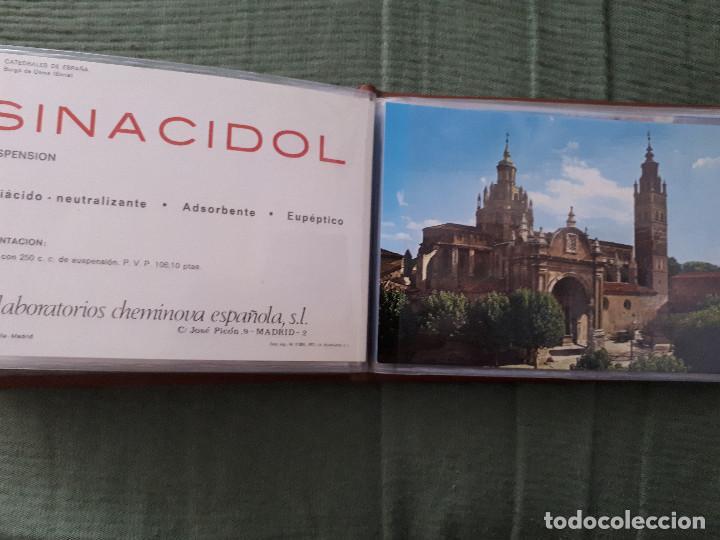 Postales: Album colección de 39 postales numeradas de Catedrales de España - Laboratorios Cheminova - 1971-72 - Foto 31 - 163107898