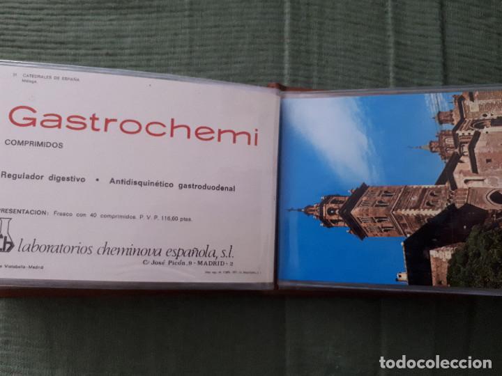 Postales: Album colección de 39 postales numeradas de Catedrales de España - Laboratorios Cheminova - 1971-72 - Foto 33 - 163107898