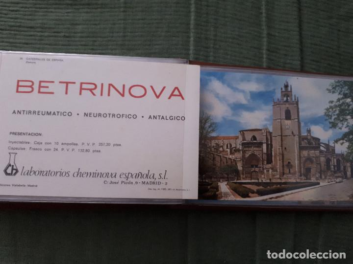 Postales: Album colección de 39 postales numeradas de Catedrales de España - Laboratorios Cheminova - 1971-72 - Foto 35 - 163107898