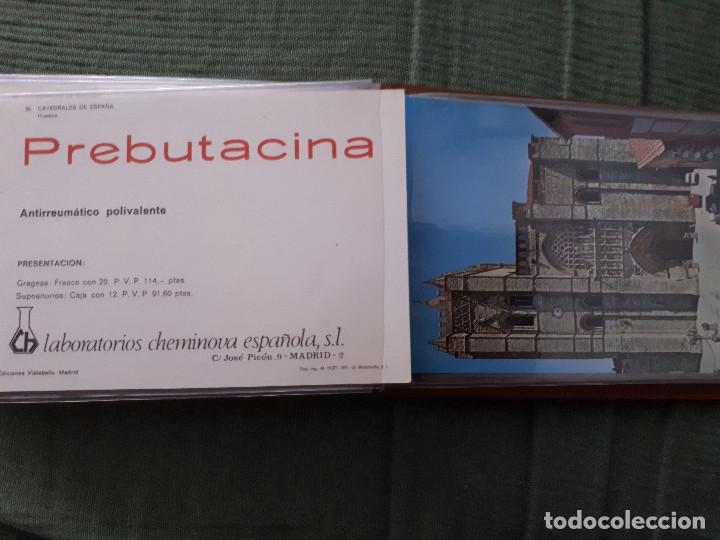 Postales: Album colección de 39 postales numeradas de Catedrales de España - Laboratorios Cheminova - 1971-72 - Foto 39 - 163107898