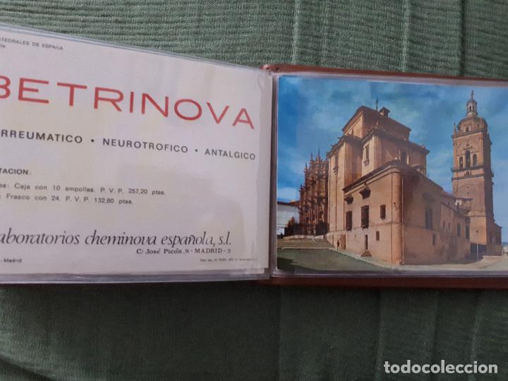 Postales: Album colección de 39 postales numeradas de Catedrales de España - Laboratorios Cheminova - 1971-72 - Foto 40 - 163107898