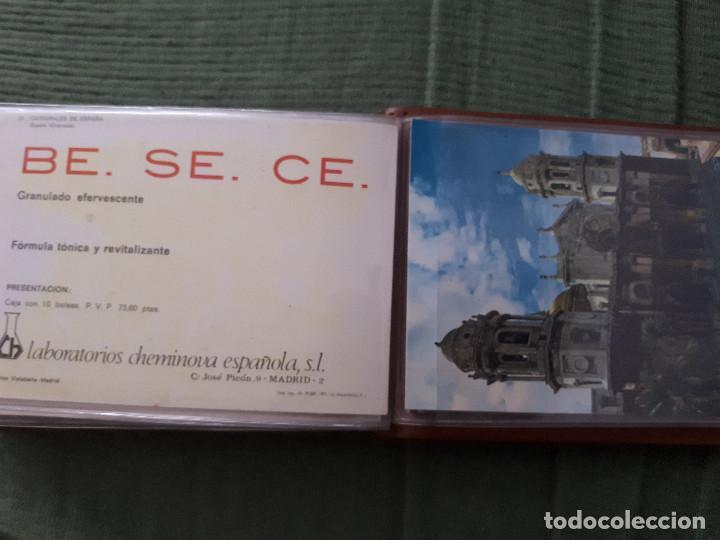 Postales: Album colección de 39 postales numeradas de Catedrales de España - Laboratorios Cheminova - 1971-72 - Foto 41 - 163107898