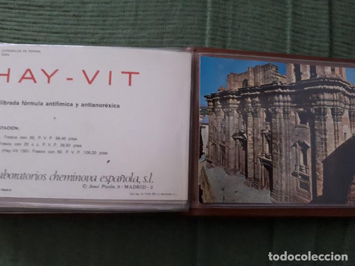 Postales: Album colección de 39 postales numeradas de Catedrales de España - Laboratorios Cheminova - 1971-72 - Foto 42 - 163107898