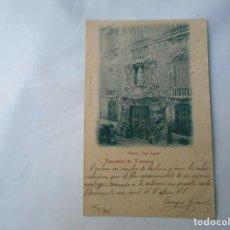 Postales: POSTAL DE VALENCIA 1902 PALACIO DOS AGUAS . Lote 164857678