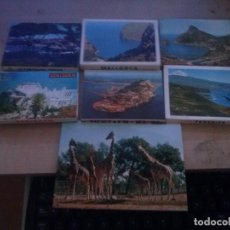 Postales: LOTE DE 7 LIBRITOS DE POSTALES EN ACORDEON DE LUGARES TURISTICOS DE ESPAÑA. Lote 165473666