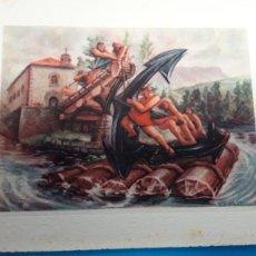 Postales: COLECCIÓN TARJETAS ANTIGUAS ,LABORDE HERMANOS.(FELICITACIONES NAVIDAD). Lote 165780174