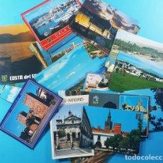 Postales: CURIOSO LOTE DE 60 POSTALES ESPAÑOLAS ENVIADAS AL CONCURSO DE TELEVISION EL PRECIO JUSTO AÑO 1990. Lote 167459332