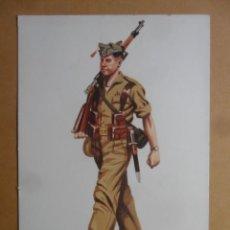 Postales: LAMINA - 15 - UNIFORME DE INSTRUCCIÓN - TOLEDO 1927-1931 - ED. ACADEMIA DE INFANTERIA. Lote 168574284