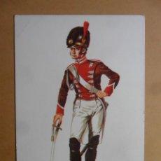 Postales: LAMINA - 3 - ACADEMIA MILITAR - 1809 - SEVILLA Y CADIZ - ED. ACADEMIA DE INFANTERIA. Lote 168574376
