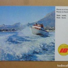 Cartes Postales: POSTAL - IBERIA LINEAS AEREAS - INVIERNO EN LA COSTA BLANCA - FOTO DIEBOL - 1970. Lote 168829620
