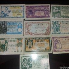 Postales: POSTALES 1967,DÉCIMO LOTERÍAS.. Lote 169089840