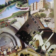 Postales: COLECCIÓN DE 6 POSTALES ENHER. CASTILLO DE MEQUINENZA (ZARAGOZA). NUEVAS. Lote 169197324