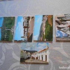 Postales: POSTALES ANTIGUAS DE LA YUNQUERA -MALAGA. Lote 170551020