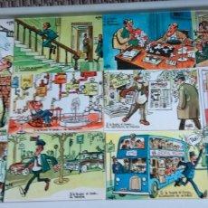 Postales: COLECCIÓN COMPLETA 12 POSTALES, ANTONIO MINGOTE. Lote 171485892
