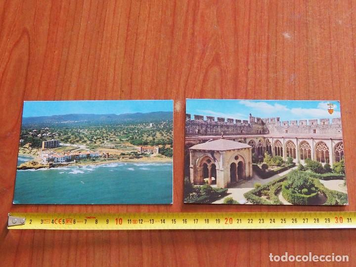 2 POSTALES ORIGEN TARRAGONA Y COMARRUGA (Postales - España - Sin Clasificar Moderna (desde 1.940))