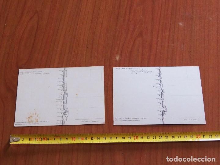 Postales: 2 POSTALES ORIGEN TARRAGONA Y COMARRUGA - Foto 2 - 171814917
