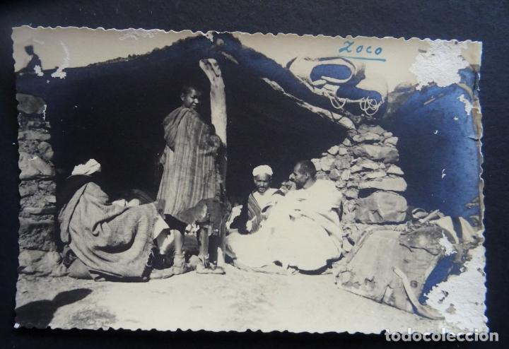 POSTAL DE VILLA SANJURJO (ALHUCEMAS) TITULADA ZOCO DEL AÑO 1947 (Postales - España - Sin Clasificar Moderna (desde 1.940))