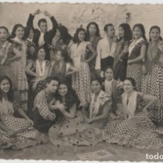 Postales: POSTALES POSTAL GRUPO DE ZAMBRA GRANADA AÑO 1954 MATA SELLOS. Lote 174077124