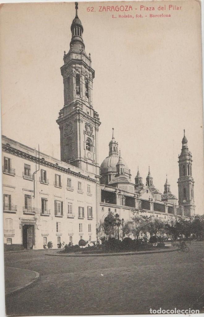 POSTALES POSTAL ZARAGOZA AÑOS 1900-10 (Postales - España - Sin Clasificar Moderna (desde 1.940))