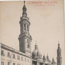 Postales: POSTALES POSTAL ZARAGOZA AÑOS 1900-10. Lote 174098507
