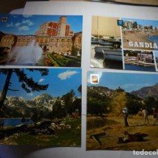 Postales: MAGNIFICAS 280 POSTALES ANTIGUAS DIFERENTES PARTES DE ESPAÑA. Lote 174208812