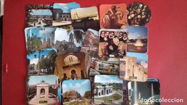 COLECCIÓN 260 TARJETAS POSTALES TIPO POSAVASOS DE IMAGENES DE PROVINCIAS ESPAÑOLAS. TAUROMAQUIA, PIN (Postales - España - Sin Clasificar Moderna (desde 1.940))
