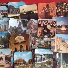 Postales: COLECCIÓN 260 TARJETAS POSTALES TIPO POSAVASOS DE IMAGENES DE PROVINCIAS ESPAÑOLAS. TAUROMAQUIA, PIN. Lote 176534457