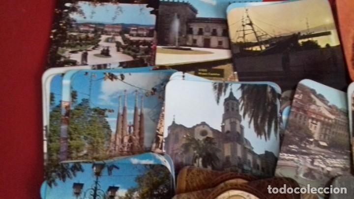Postales: Colección 260 Tarjetas postales tipo posavasos de imagenes de Provincias Españolas. tauromaquia, pin - Foto 2 - 176534457