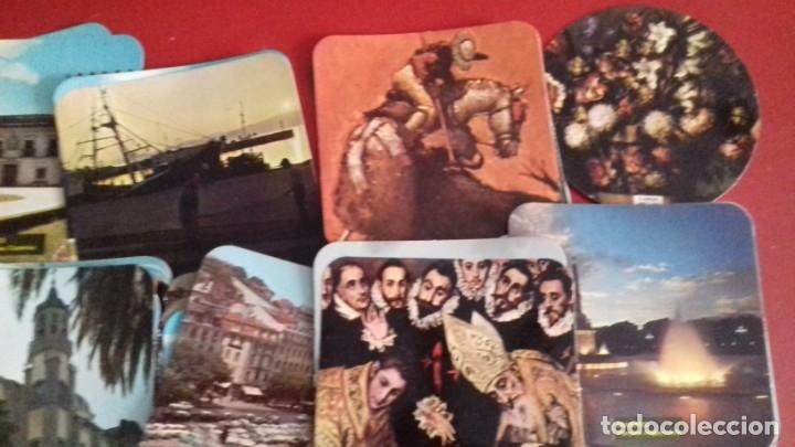 Postales: Colección 260 Tarjetas postales tipo posavasos de imagenes de Provincias Españolas. tauromaquia, pin - Foto 3 - 176534457