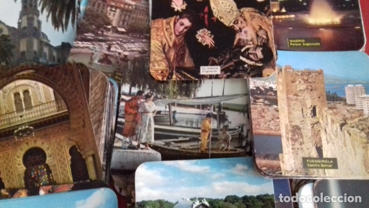 Postales: Colección 260 Tarjetas postales tipo posavasos de imagenes de Provincias Españolas. tauromaquia, pin - Foto 4 - 176534457