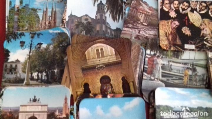 Postales: Colección 260 Tarjetas postales tipo posavasos de imagenes de Provincias Españolas. tauromaquia, pin - Foto 5 - 176534457